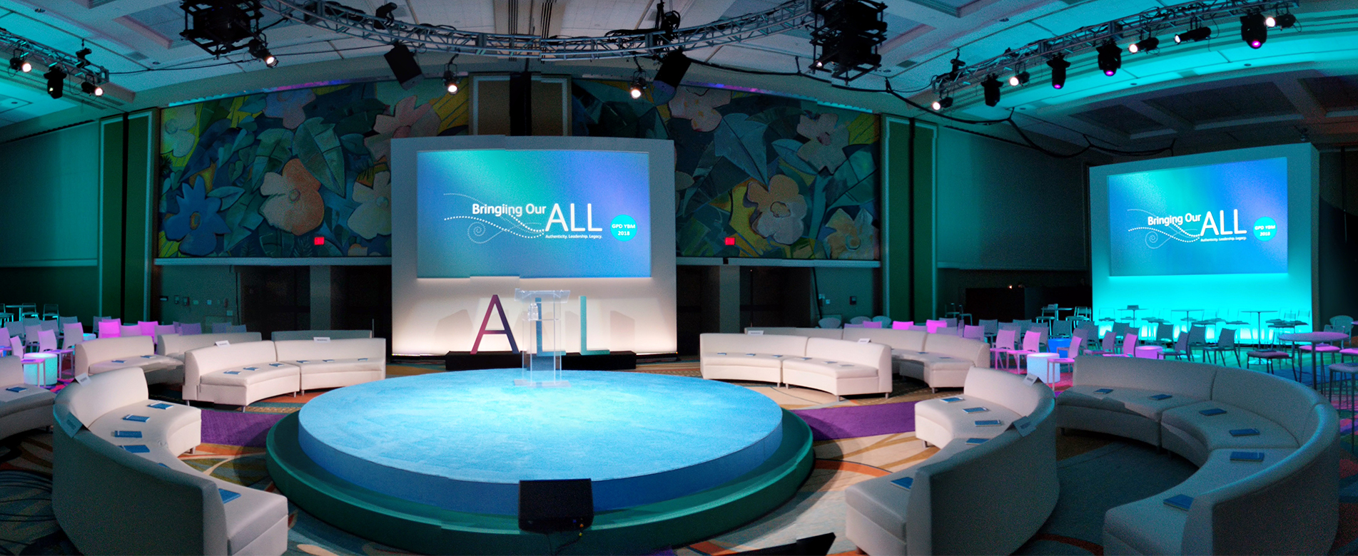 event staging and production