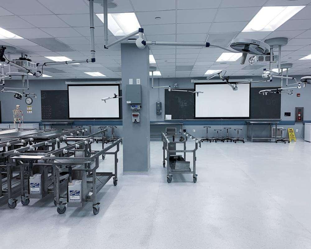 University Anatomy Lab