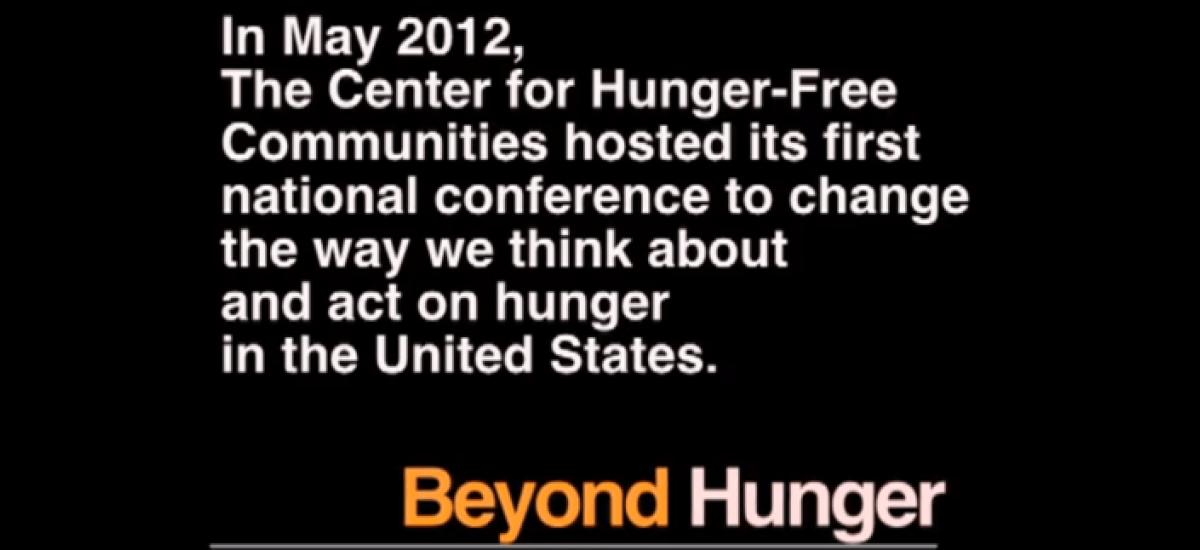 Drexel: Beyond Hunger