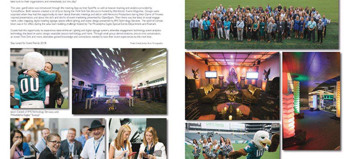 Event Trends 2017 in September-October 2017 Issue of Mid-Atlantic Events Magazine