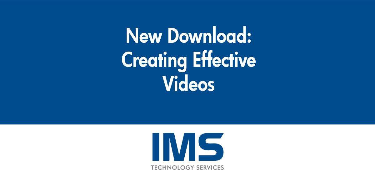 Creating Effective Video Content (Free Download!)