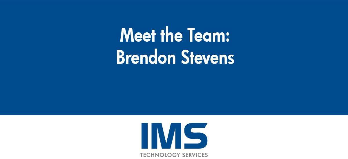 Brendon Stevens - Lead Installation Technician
