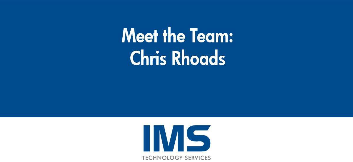 Chris Rhoads - Lead Installation Technician