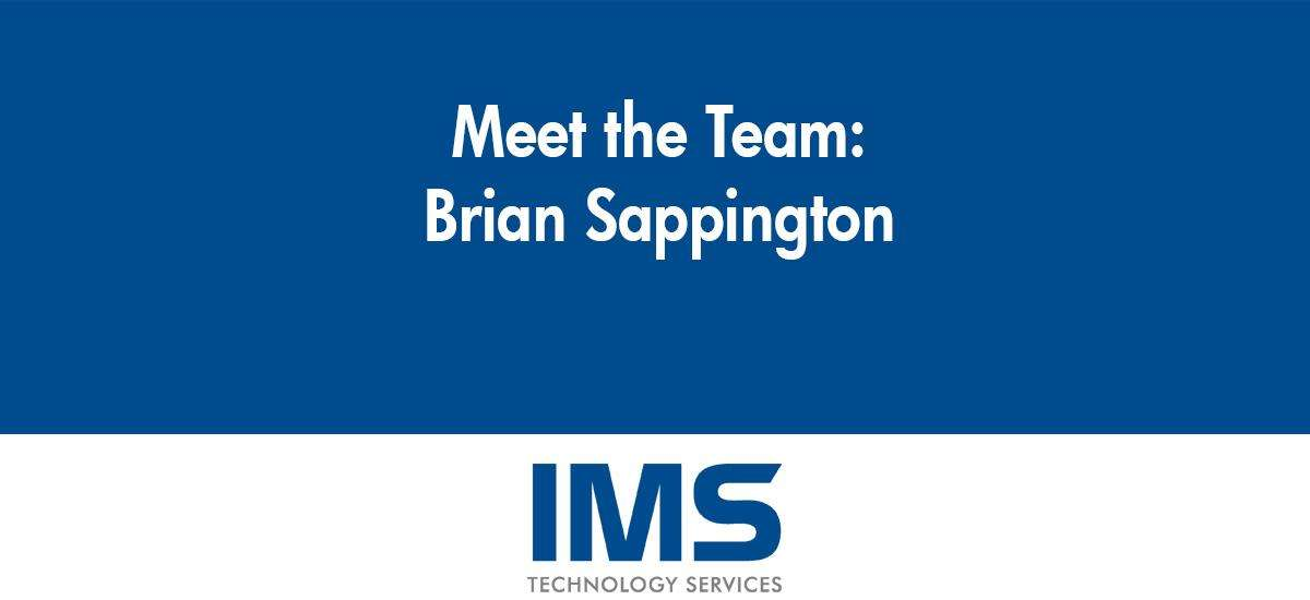 Brian Sappington - Customer Service Technician