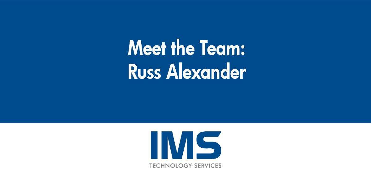 Russ Alexander - Integration Warehouse Technician