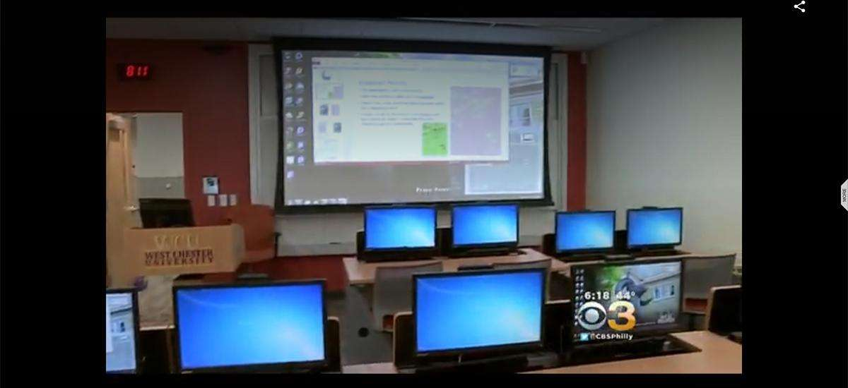 Cutting-Edge Technology At West Chester University Prepares Students For Real World