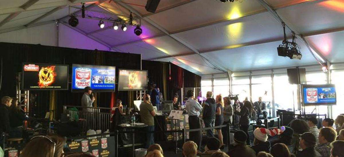 IMS Supports WMMR's Campout For Hunger