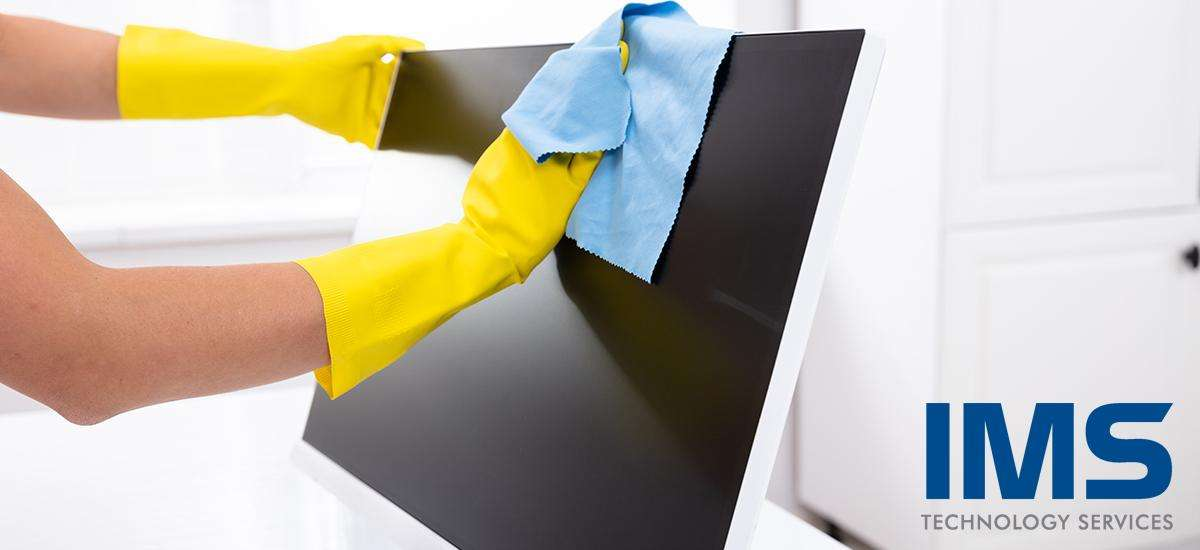 Cleaning Instructions: Monitors, Touch Panels, Microphones