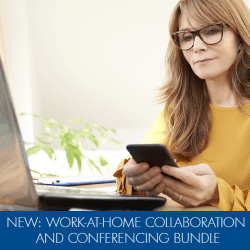 Working at Home and Need a Better Conferencing Solution?